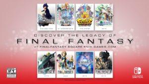 Die Final Fantasy Spiele für die Nintendo Switch