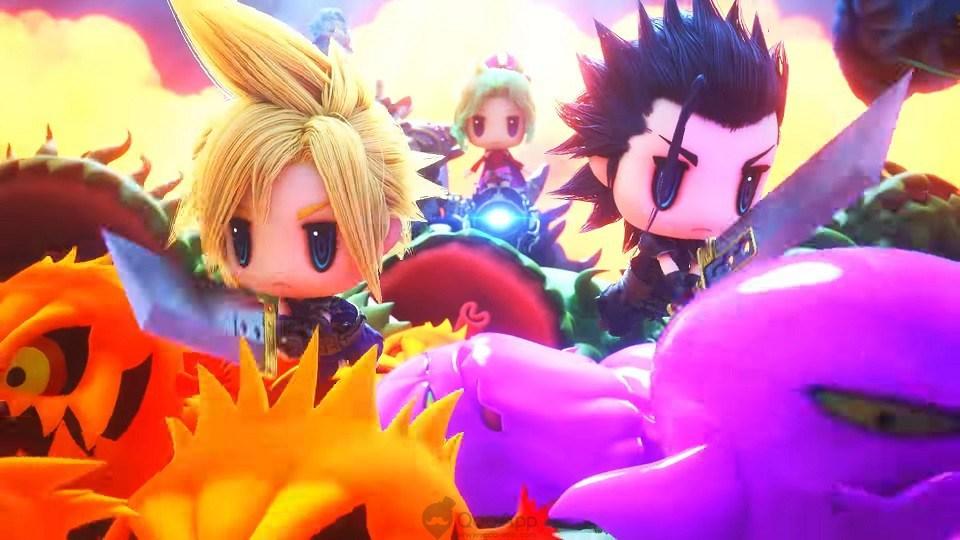 World Of Final Fantasy - Cloud und Zack
