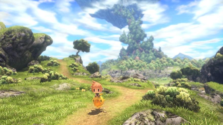 World Of Final Fantasy - Reite auf einem Chocobo