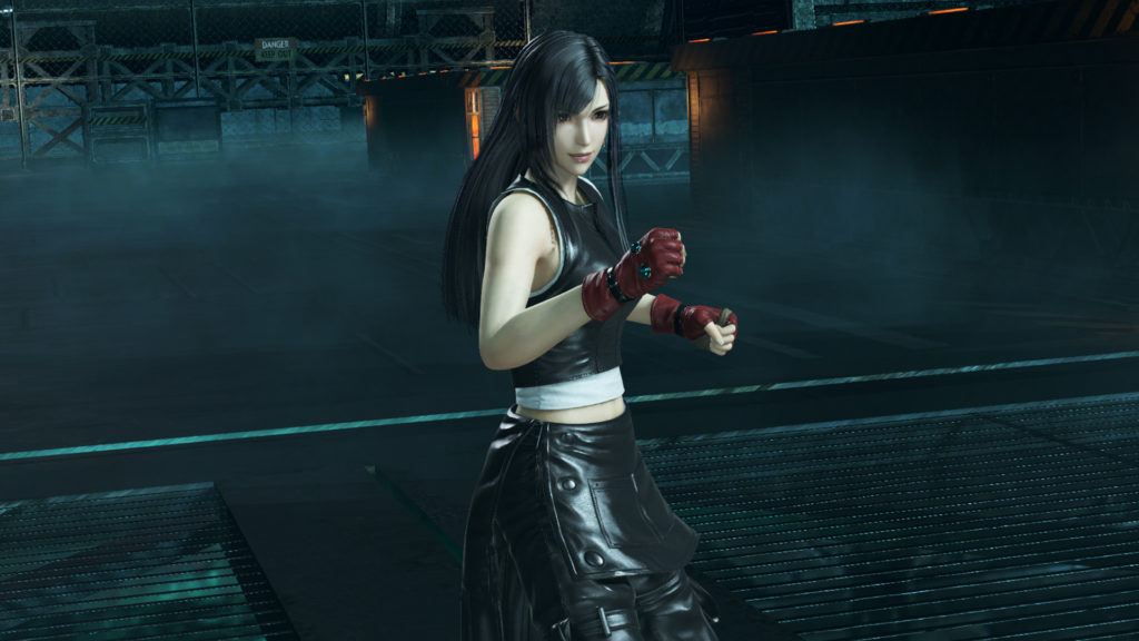 Dissidia Final Fantasy NT Tifa Black Outfit