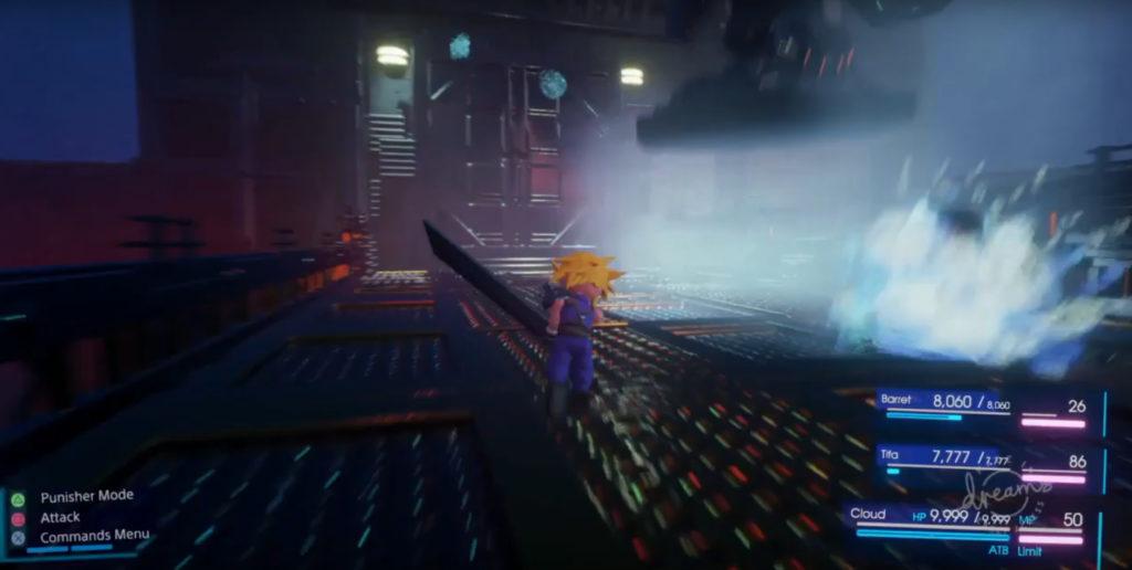 FFVII Dreamake Final Fantasy VII Gameplay