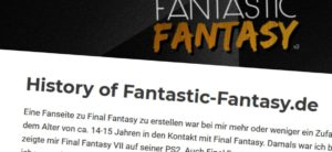 Intern: History of Fantastic-Fantasy