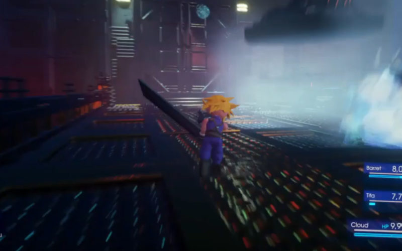 Final Fantasy VII Remake bei Dreams Creator