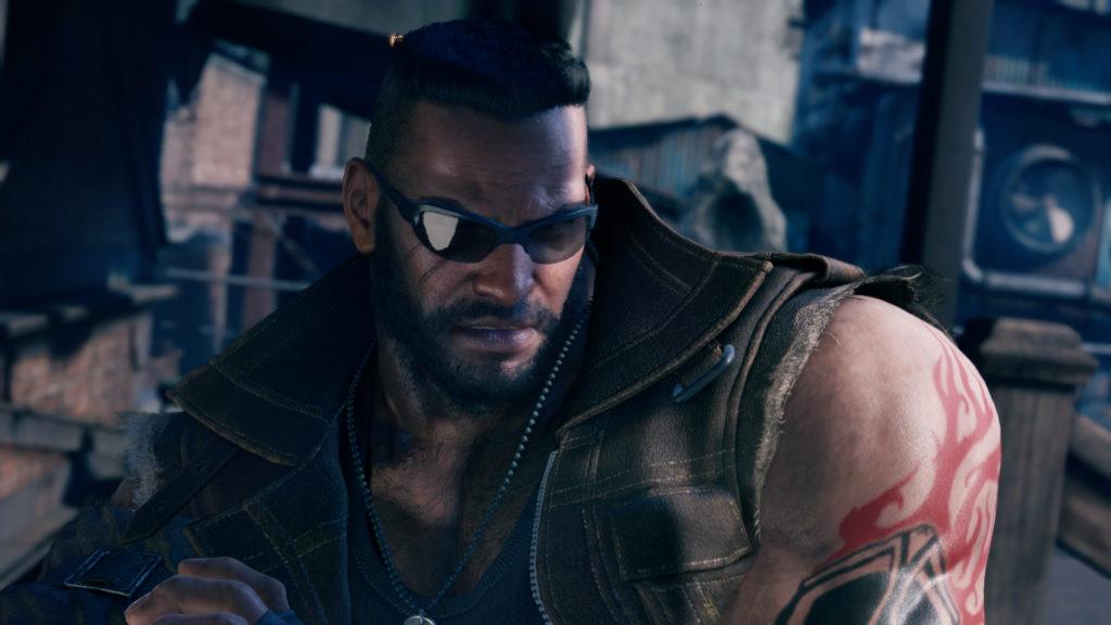 Final Fantasy VII Remake Barrett