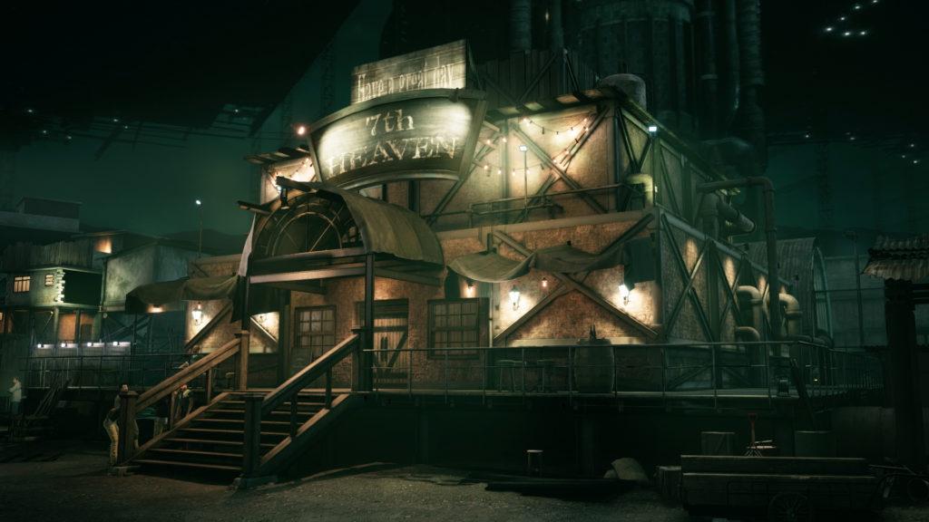 Final Fantasy VII Remake Siebter-Himmel Bar