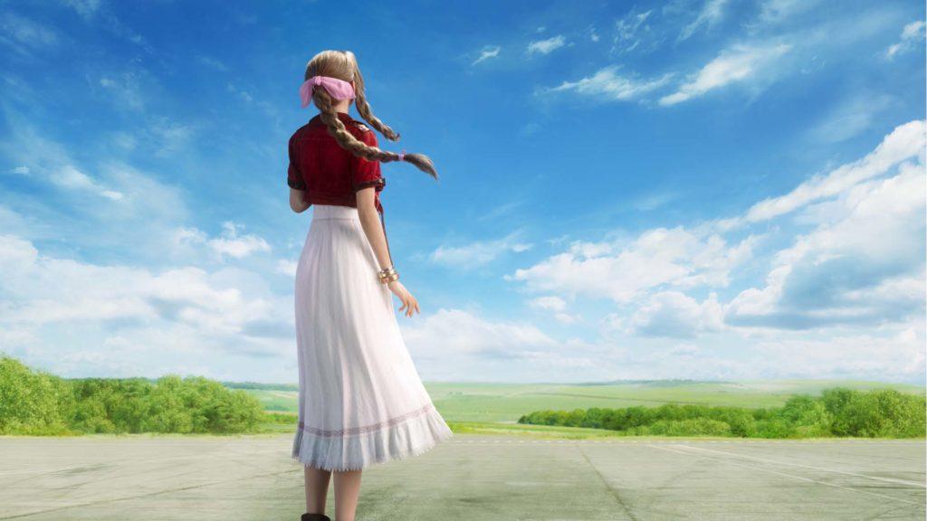Aeris Final Fantasy VII Remake