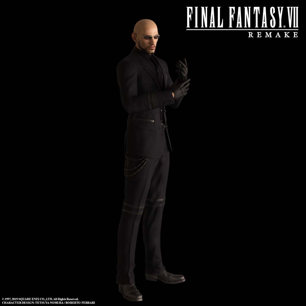 Rude in Final Fantasy VII Remake