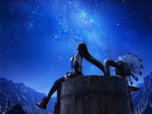 Ikonisches Bild von Tifa in Final Fantasy VII Remake