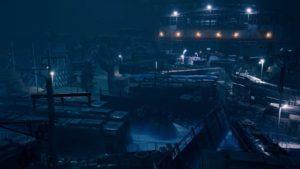Zugfriedhof in Final Fantasy VII Remake