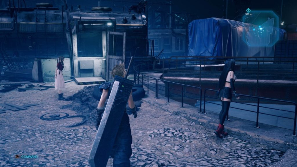 Cloud in Final Fantasy VII Remake