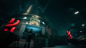 ShinRa Gebäude in Final Fantasy VII Remake