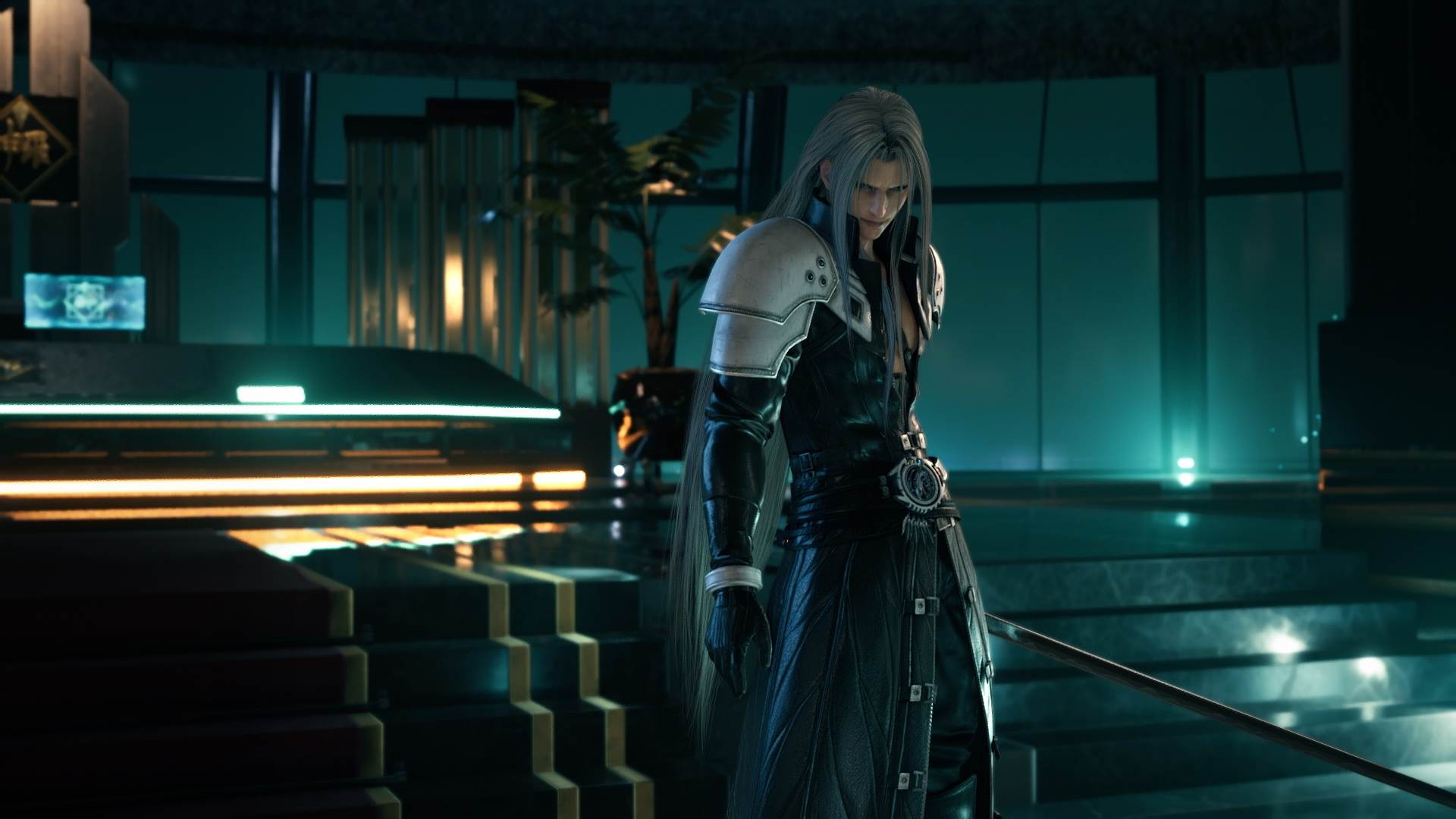 Sephiroth in Final Fantasy VII Remake