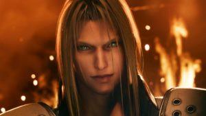 Sephiroth in Final Fantasy VII Remake