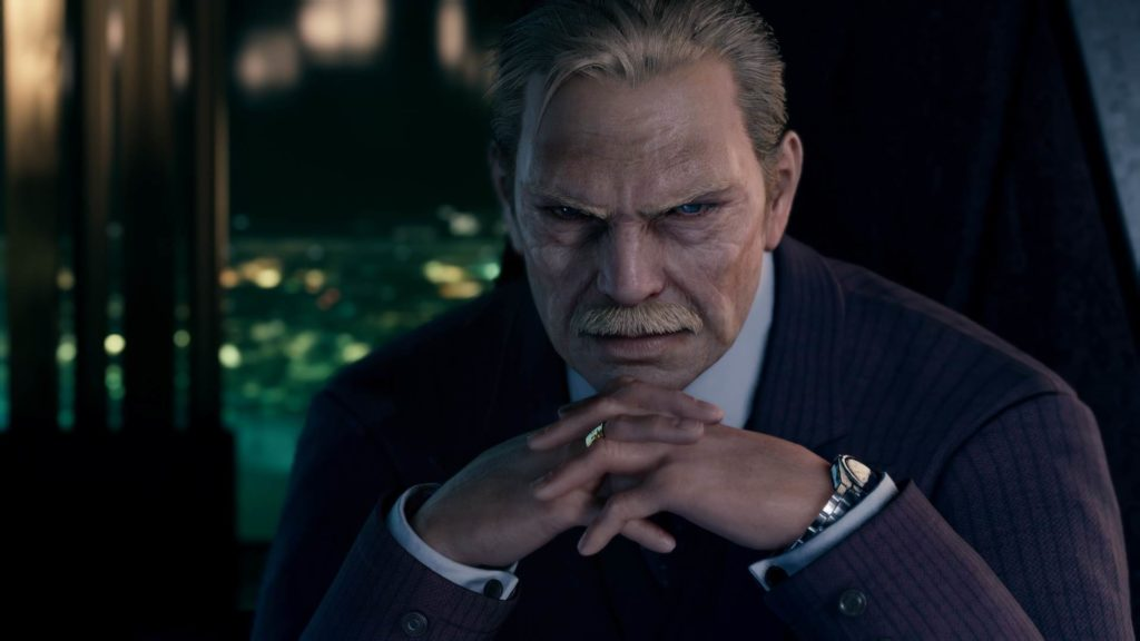 ShinRa Präsident in Final Fantasy VII Remake