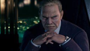 ShinRa Präsident in Final Fantasy VII Remake