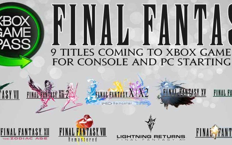 Final Fantasy Xbox GamePass