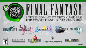 Final Fantasy Xbox GamePass